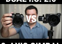 GH5 IBIS Dual I.S. 2.0 In-Body Stabilization vs 3-Axis Pistol Grip Gimbal Comparison Test