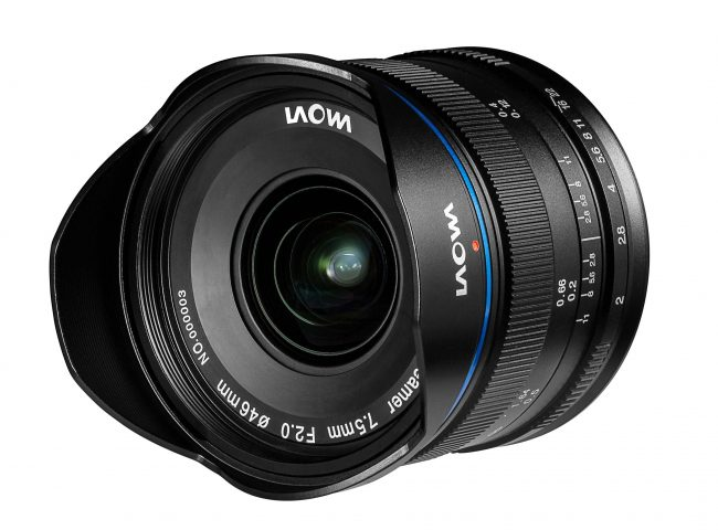 Laowa 7.5mm f2 mft black