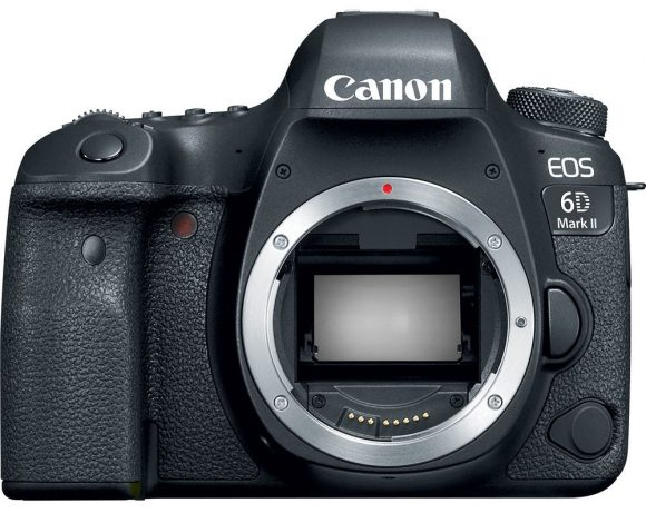 Canon 6D Mark II 26 MP full-frame sensor