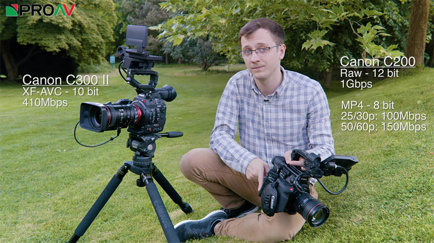 Canon EOS C200 vs EOS C300 II - Which Camera Fits Your Workflow
