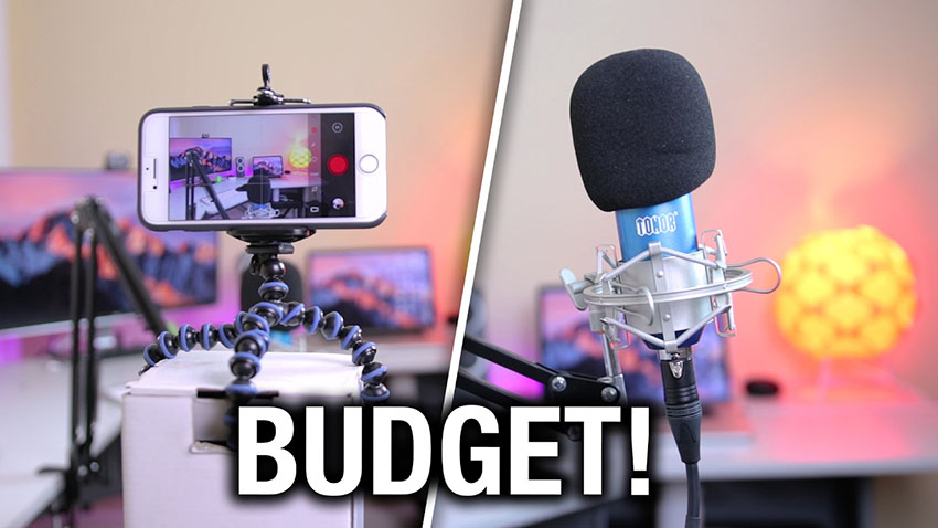 Filming High-Quality YouTube Videos on a $100 Budget
