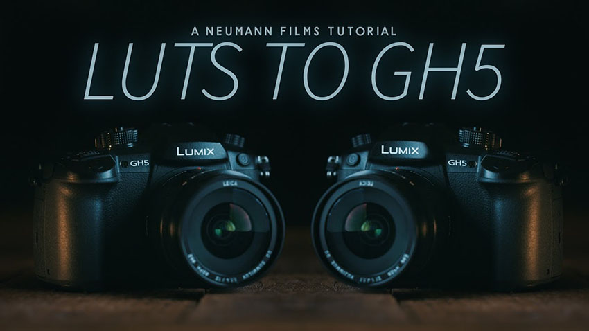 How To Add In-Camera Custom LUTs to the Panasonic GH5 | 4K Shooters