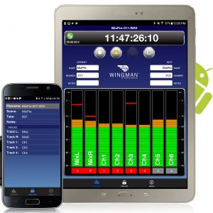 Sound Devices WIngman app remote control android mixpre-6 mixpre-3