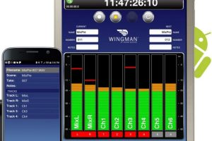 Sound Devices Wingman App for Remote Control Now Available for Android