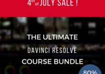 Don't Miss the Ultimate DaVinci Resolve Online Training Bundle and Get Fairlight 101 and Fusion 8 – Simplified Courses for Free!