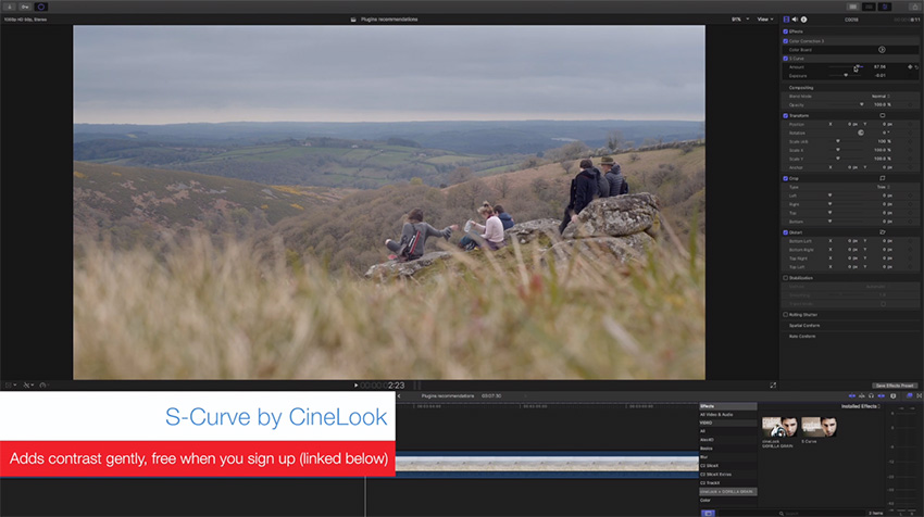 Seven Essential Plugins for Final Cut Pro X | 4K Shooters