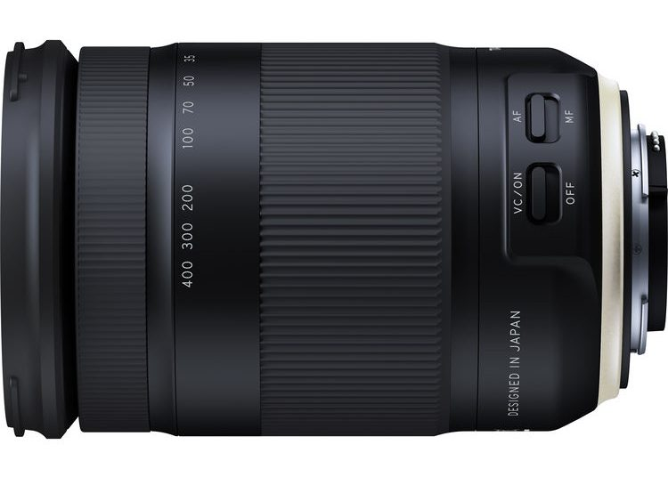 Tamron 18-400mm EF Side