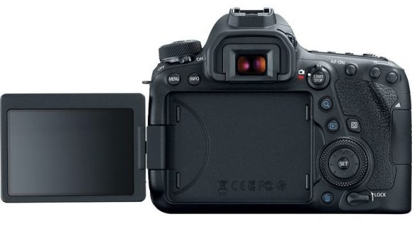 canon 6d mark ii lcd touchscreen