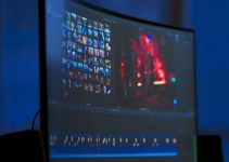 How about a Curved, Ultra-Wide Display for Video Editing?
