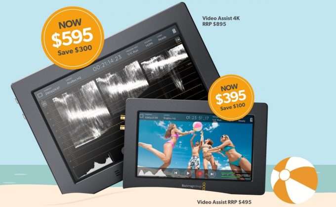 Blackmagic Design Video Assist Summer Price Drop