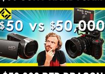 How Does a $50 Sony Camcorder Hold Up Against the Mighty $50,000 RED Dragon?