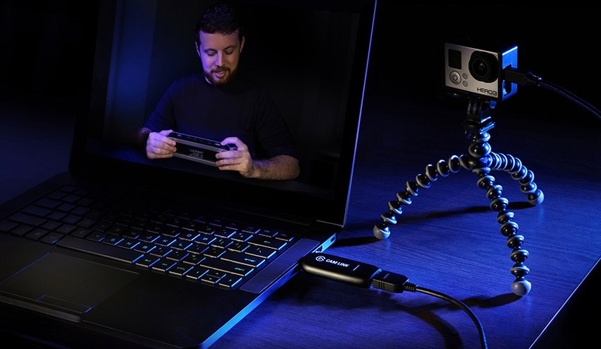 Cam Link Instantly Turns Any High-End Camera with HDMI Output Into a