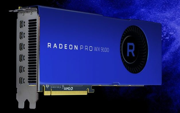 AMD Unveil New Super-Fast Radeon Pro WX 9100 and Radeon Pro