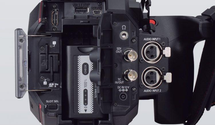Panasonic EVA 1 Back SDI HDMI 4K 60p
