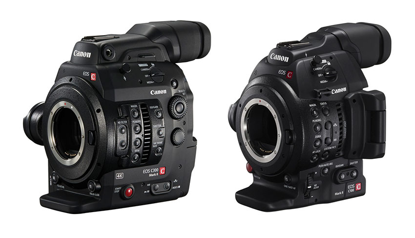 New Firmware Updates for the Canon C300 Mark II and C100