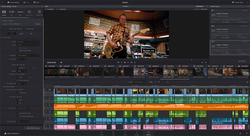 DaVinci Resolve 14 is Out of Beta Providing 10x Faster Video