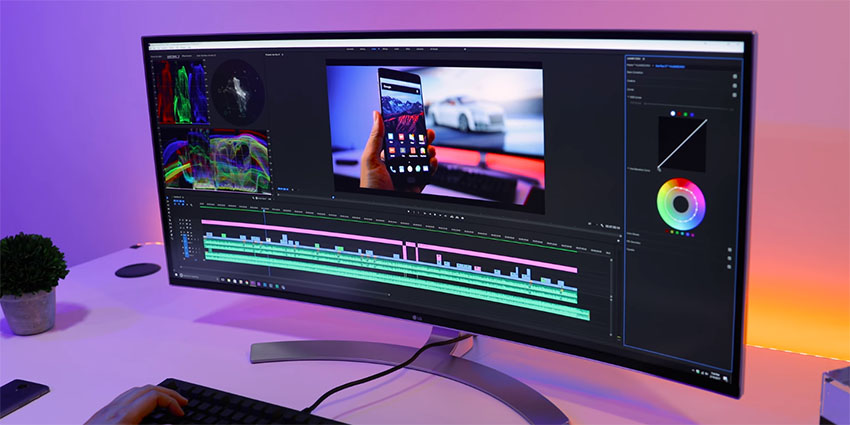 LG 38UC99-W - The Best Ultra Wide Monitor for Content Creators? | 4K
