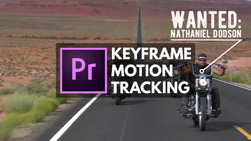 Manual and Auto Motion Tracking of an Object in Premiere Pro