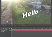 Attaching Text to the Ground in After Effects CC