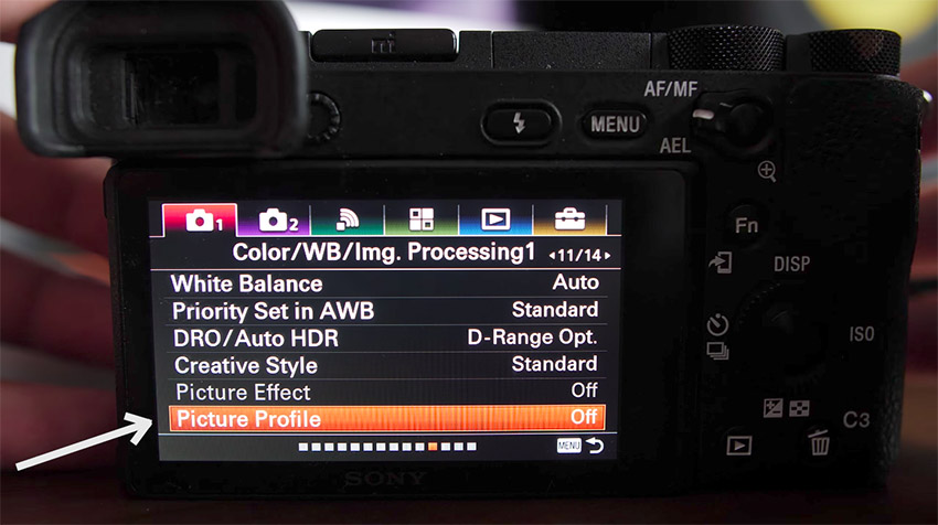 Quick Tip: Best Sony A6500 Picture Profile Settings for a