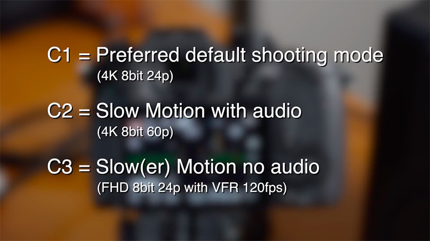 How To Quickly Switch Frame Rates on the Panasonic GH5 | 4K Shooters