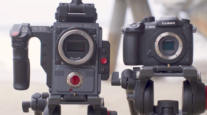 $2,000 Panasonic GH5 vs $20,000 RED Scarlet-W - What Do You Get for