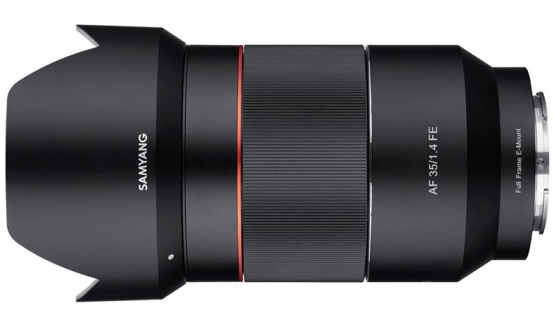 Samyang Announce Af 35mm F 1 4 Fe Lens For Sony A9 And A7r