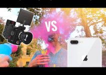 Check Out This Entertaining iPhone 8 vs RED Epic-W Super Slow-Motion Test