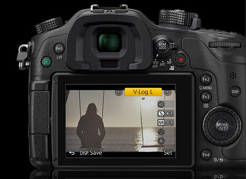 Panasonic Lumix GH4 with FREE V-Log