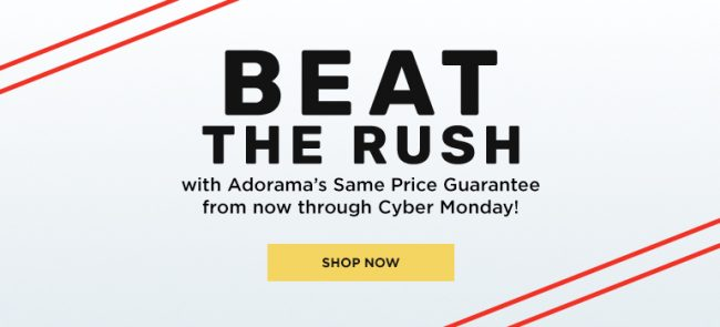 Adorama Holiday Deals Black Friday