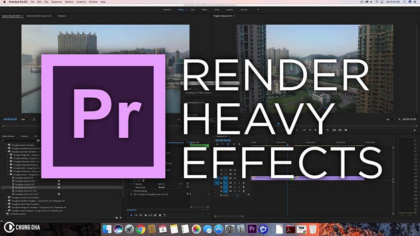 How to Render Heavy Effects More Efficiently in Premiere Pro CC   4K