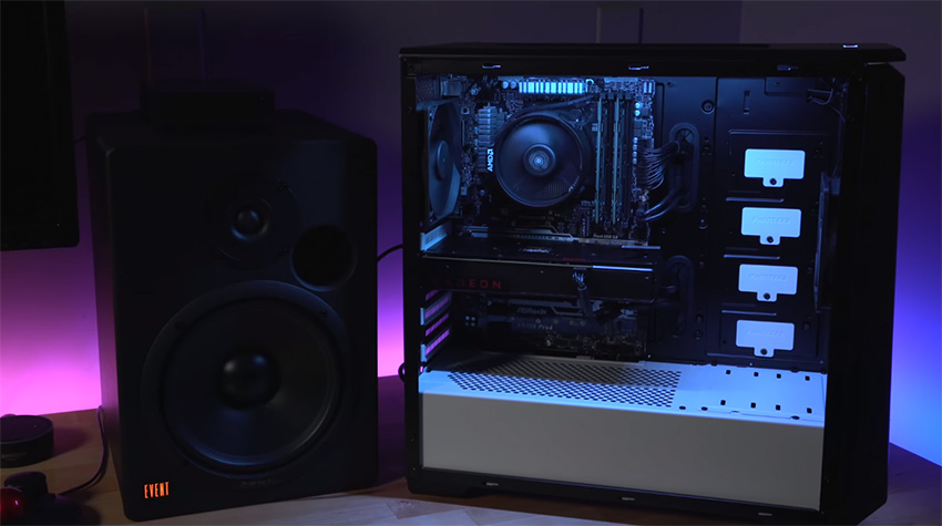 how to get video out ryzen when building