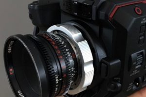Panasonic AU-EVA1 PL Mount Kit from Wooden Camera and More Accessories