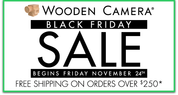 Wooden Camera Black Friday 2017