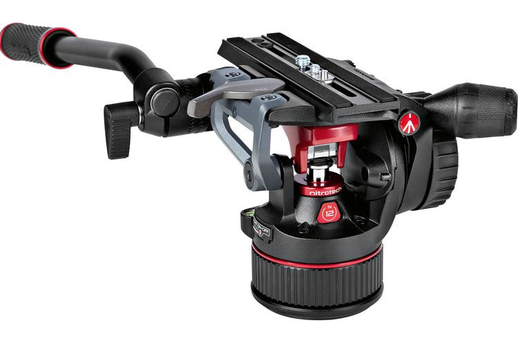 Manfrotto Nitrotech N12 fluid head for video