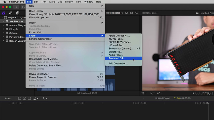 Five Small but Notable Enhancements in Final Cut Pro 10 4