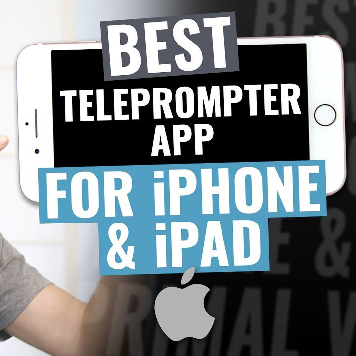Best Teleprompter App for iPad and iPhone | 4K Shooters