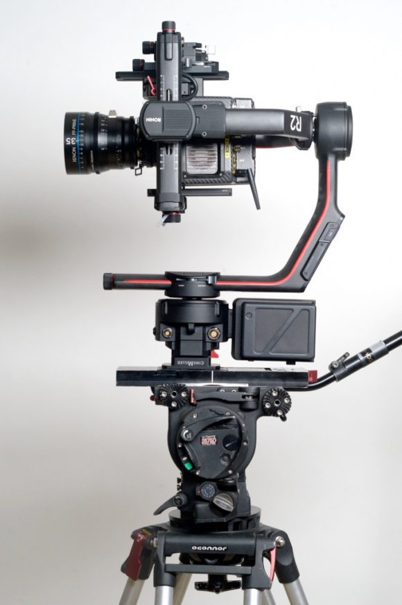 CineMilled DJI Ronin 2 tripod mount