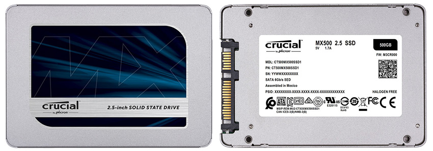 CES 2018: Meet the Brand New Crucial MX500 SSDs Boasting Up