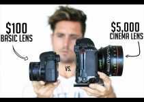 """How Does the $100 Canon """"Nifty Fifty"""" Lens Hold Up Against a $5,000 Cinema Lens"""