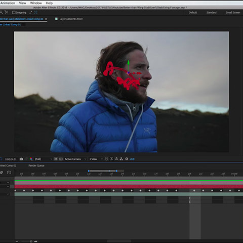 How To Stabilize Shaky Footage Without Using the Warp