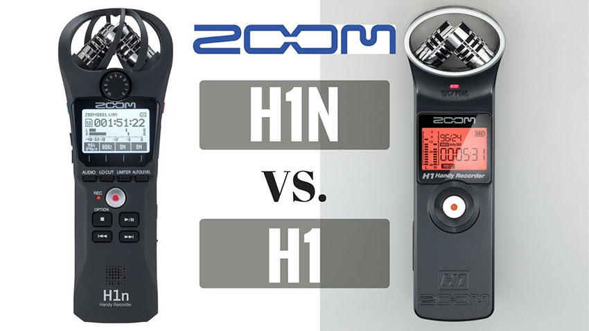 zoom h1 vs zoom h1n is it worth upgrading to the new model 4k shooters. Black Bedroom Furniture Sets. Home Design Ideas