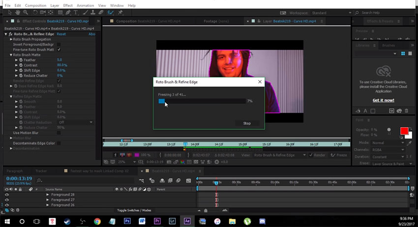 Super Fast and Easy Way to Create Masks in After Effects CC (Quick