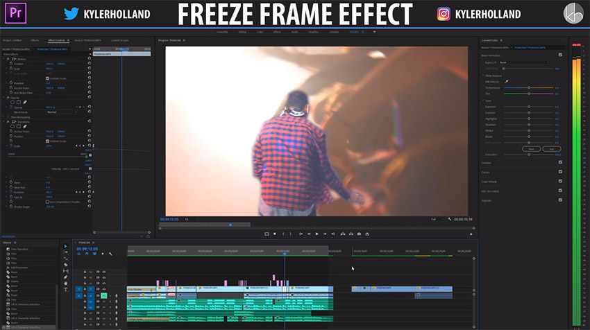 Enhance Your Edits with This Stunning Freeze Frame Effect in