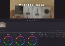 How to Easily Reveal Text/Logos From Behind an Object in DaVinci Resolve 14