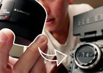 The $48 Yongnuo 50mm f1.8 Lens Mounted on a RED Dragon Camera?
