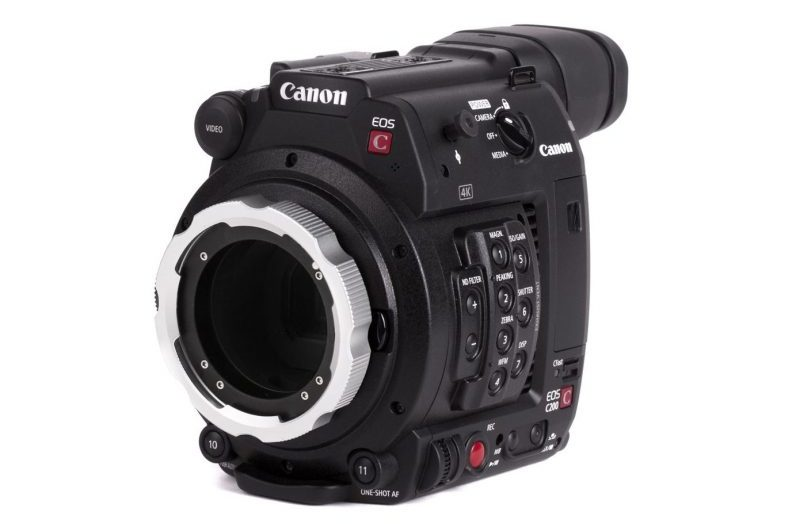 Canon C200 PL Modification Kit from Wooden Camera | 4K Shooters