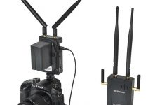 Turn Your iPhone or iPad into a Field Monitor with the CAME-TV Crystal-800 Long Distance Wireless Video System