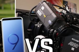 How Does the Samsung Galaxy S9 Plus Hold Up Against the ARRI ALEXA Mini?