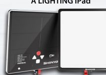 SHiNYO Smart Light P3D – Thin LED Pad Lights from FilmPower